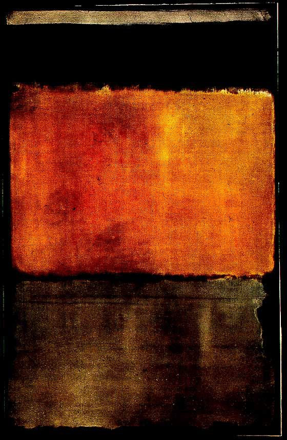 Brown And Yellow Living Room Decor: Influence: Mark Rothko (1903-1970)